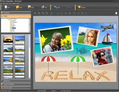 Photo Collage Maker 5.0 screenshot