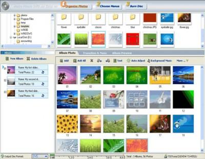 Photo DVD Maker 6.32 screenshot