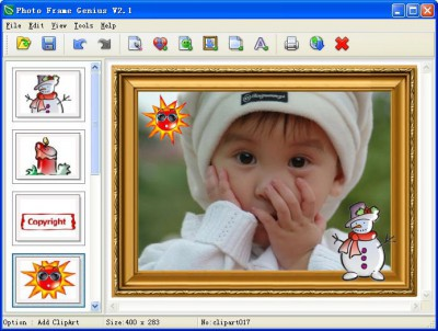 Photo Frame Genius 2.3 screenshot