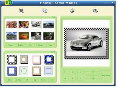 Photo Frame Maker 2.00 screenshot