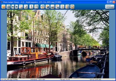 Photo Gadget Viewer 2.0 screenshot