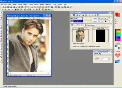 Photo Pos Pro photo editor 3.30 screenshot