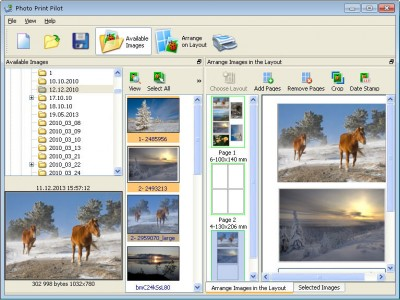 Photo Print Pilot 2.5.2 screenshot