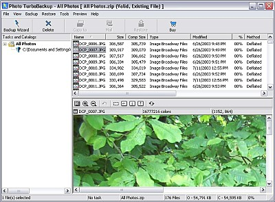 Photo TurboBackup 4.0 screenshot