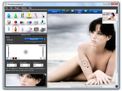 PhotoInstrument 7.7 screenshot