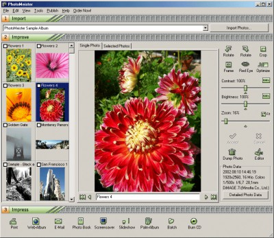 PhotoMeister 2.6 screenshot