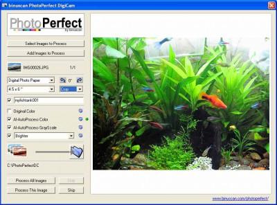 PhotoPerfect DigiCam 1.1.5 screenshot