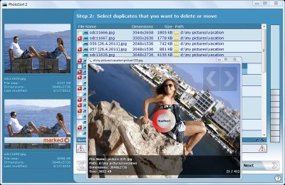 PhotoSort 2.46 screenshot