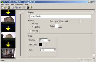 Photovido 1.40 screenshot