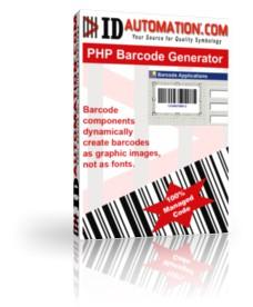 PHP Barcode Generator Script 2011 screenshot