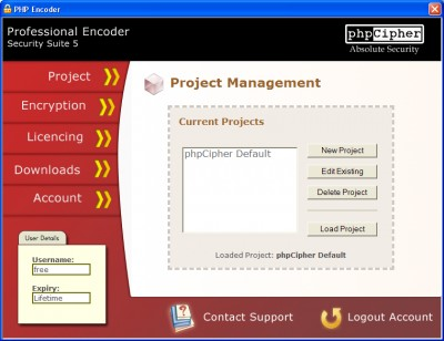 PHP Encoder 5 screenshot