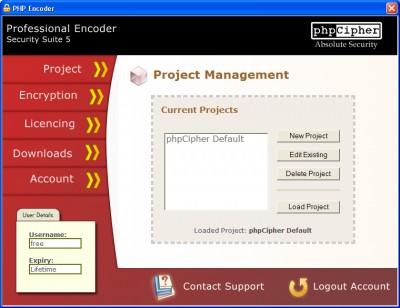 PHP Encoder 5 screenshot