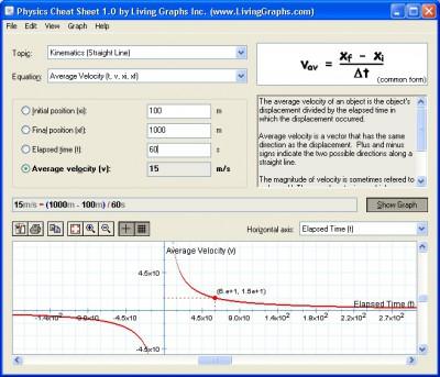 Physics Cheat Sheet 1.2 screenshot