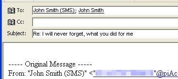 piAccess Mail 1.1 screenshot