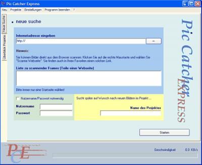 Pic Catcher Express 1.1 screenshot