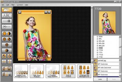 Pics2Phones 1.31 screenshot