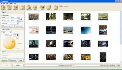PicShrink 2.5 screenshot