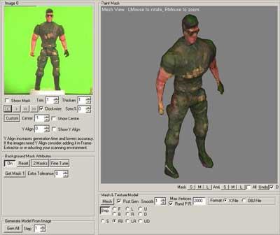 Pictomod3d 1.1 screenshot