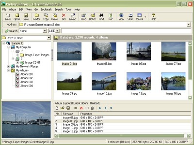 Picture Library 1.4.085 screenshot