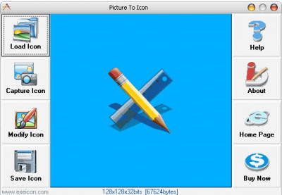 Picture To Icon 5.1736 screenshot