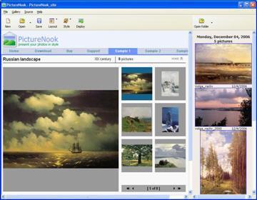 PictureNook 2.0 screenshot