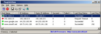 PingInfoView 2.15 screenshot