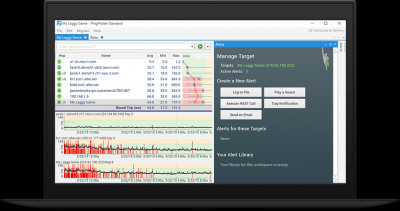 PingPlotter Standard 5.11.3 screenshot