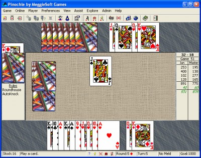 Pinochle and Bezique by MeggieSoft Gam 16.4 screenshot