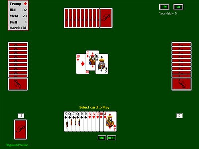Pinochle for Windows 4.14 screenshot
