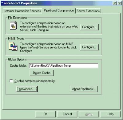 PipeBoost 3.0.306 screenshot