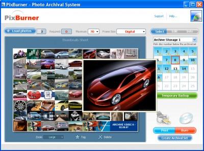 PixBurner 2.0 screenshot