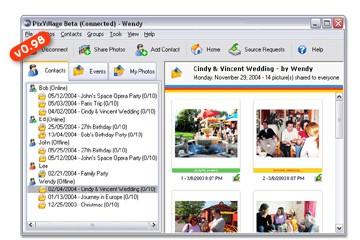 PixVillage :: Online Photo Sharing Software :: 0.98.2069 screenshot