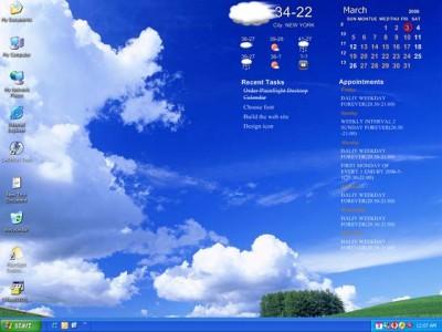 PlainSight Desktop Calendar 2.3.9 screenshot
