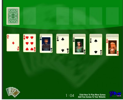 Play Solitaire Online 2.0 screenshot