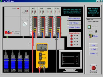 PLC Training - RSlogix Simulator 4.32 screenshot