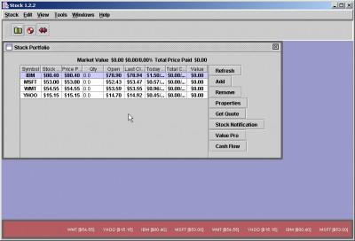 PlexStock 1.1 screenshot