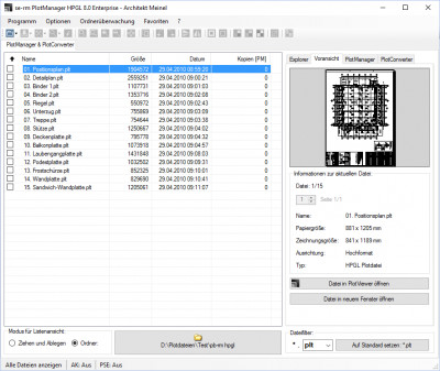 PlotManager HPGL Standard 8.0.30 screenshot