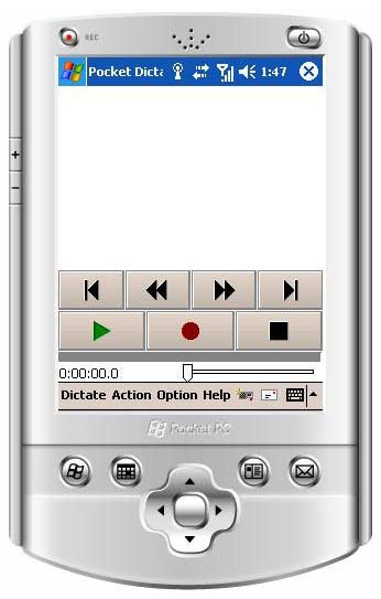 Pocket Dictate Dictation Recorder 5.13 screenshot