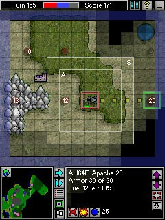 Pocket War 1.603 screenshot