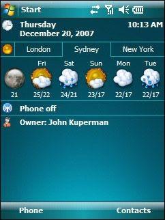 PocketWeather v2.0.6 screenshot
