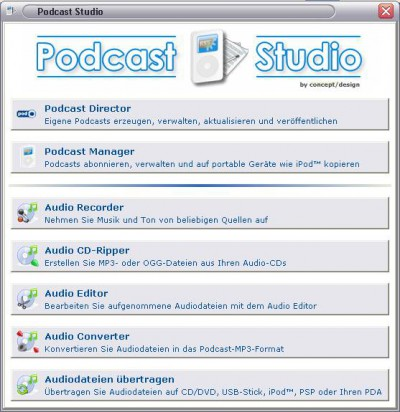 Podcast Studio 1.1.0.0 screenshot