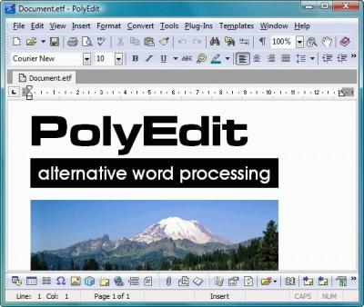 PolyEdit 5.4 screenshot