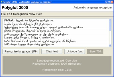 Polyglot 3000 3.79 screenshot