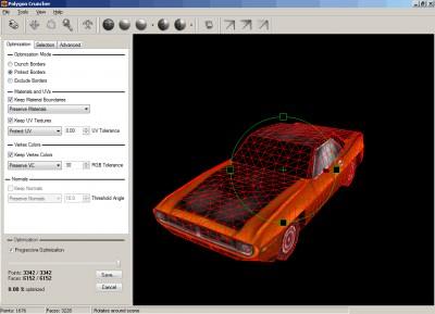 Polygon Cruncher 10.51 screenshot