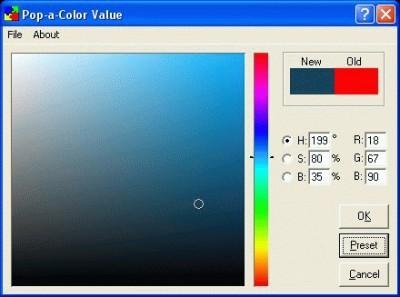 Pop-a-Color Value 1.13 screenshot