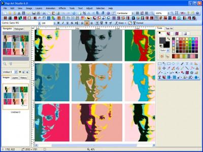 Pop Art Studio 9.0 screenshot