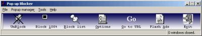 Pop up Blocker 6.0.6a screenshot
