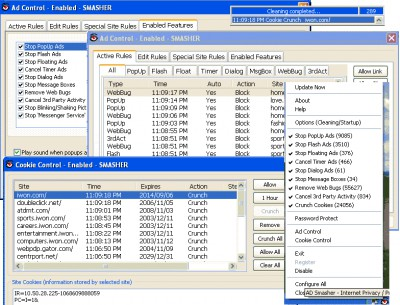 PopUp Ad SmasheR 4.1.55 screenshot