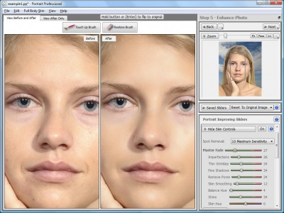 Portrait Professional 11.3.4 screenshot