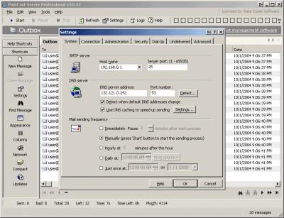 PostCast Server 2.6.0 screenshot